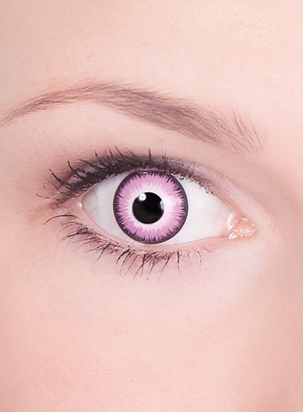 Pink Contact Lenses Wizard