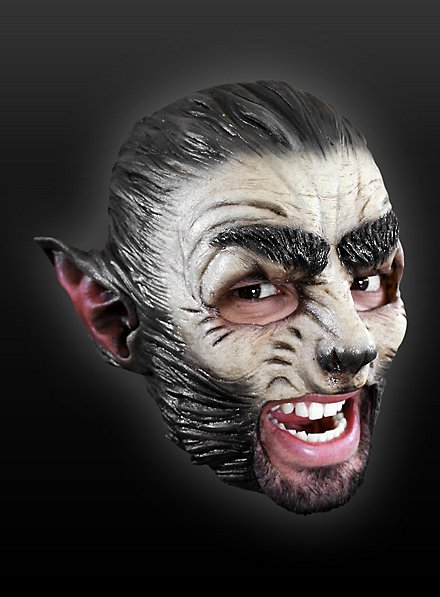 Wolf Chinless Mask Made of Latex