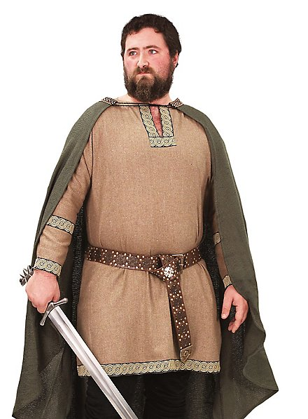 Woolen Viking Tunic brown