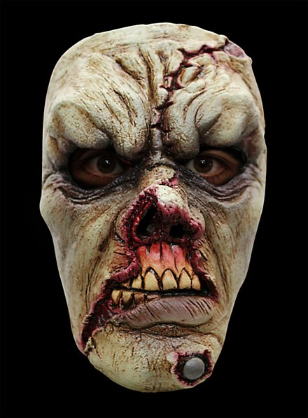Wounded Zombie Horror Mask
