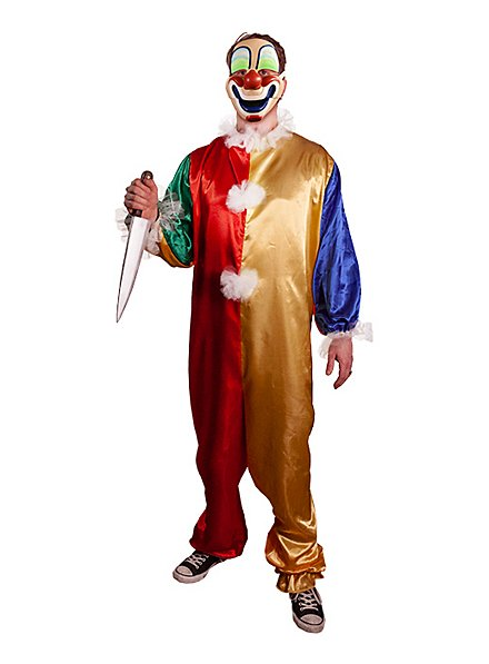 Young Michael Myers clown costume