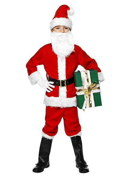 Young Santa Kids Costume