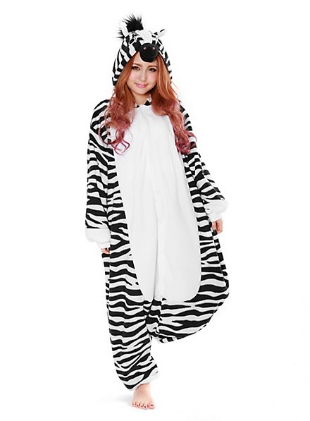 Zebra Kigurumi Kostüm