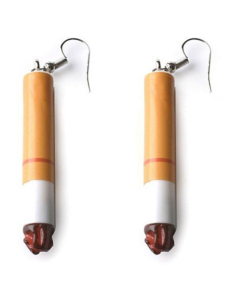 Zigaretten Ohrringe