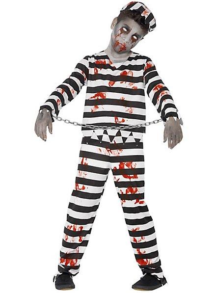 Zombie Convict Child Costume