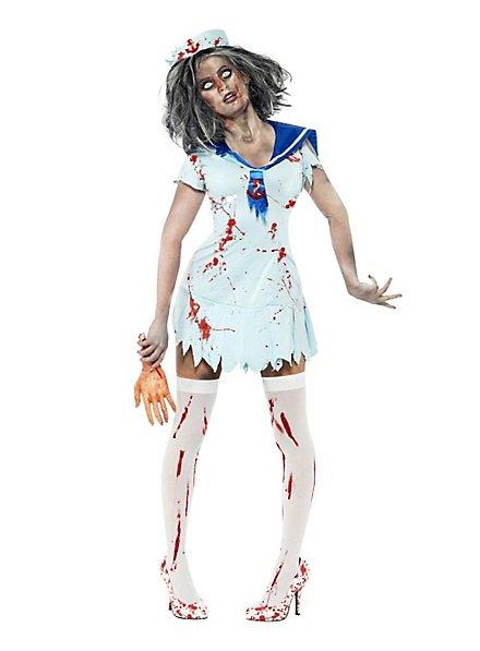 Zombie femme matelot Déguisement