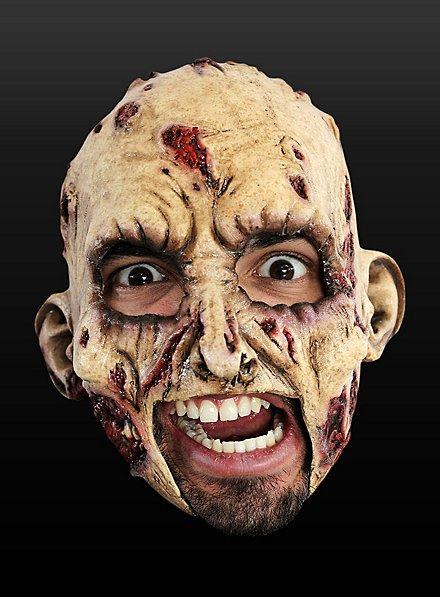 Zombie Kinnlose Maske aus Latex