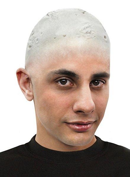 Zombie Latex Glatze ungeschminkt