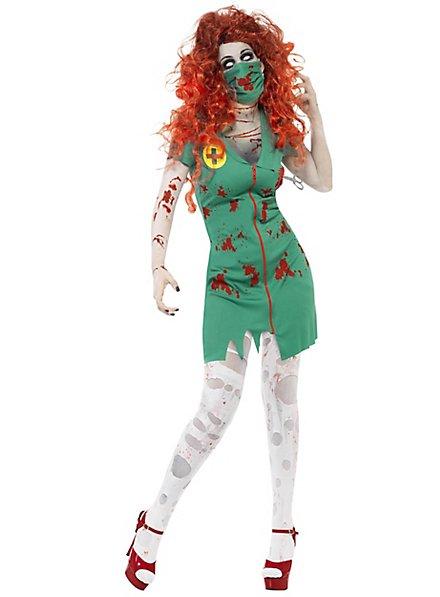 Zombie OP-Schwester Kostüm