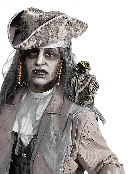 Zombie Papagei Halloween Deko