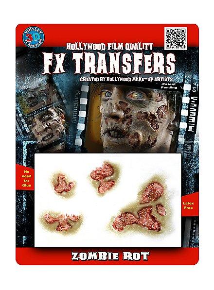 Zombie Rot 3D FX Transfers