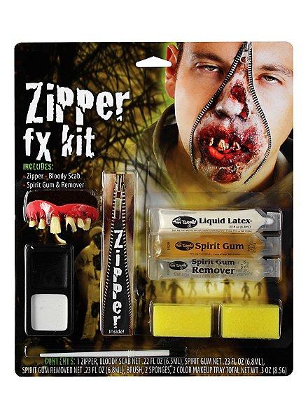 Zombie Skin Zipper SFX Kit