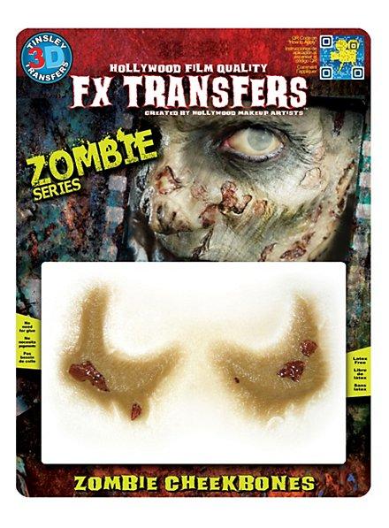 Zombie Wangenknochen 3D FX Transfers