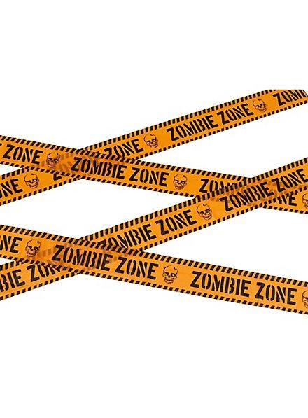 """Zombie Zone"" Absperrband"