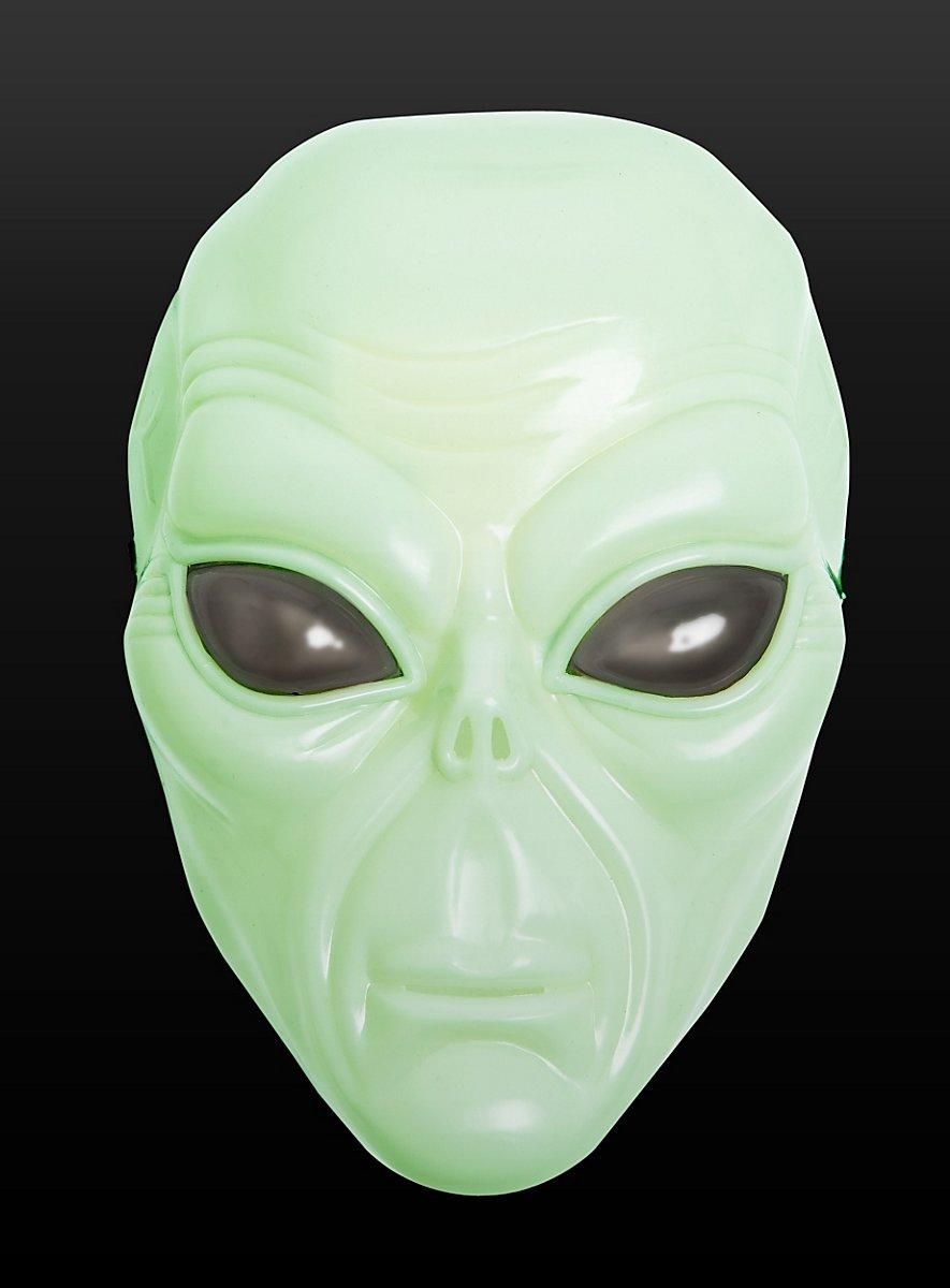 alienmaske uv alien aus kunststoff. Black Bedroom Furniture Sets. Home Design Ideas