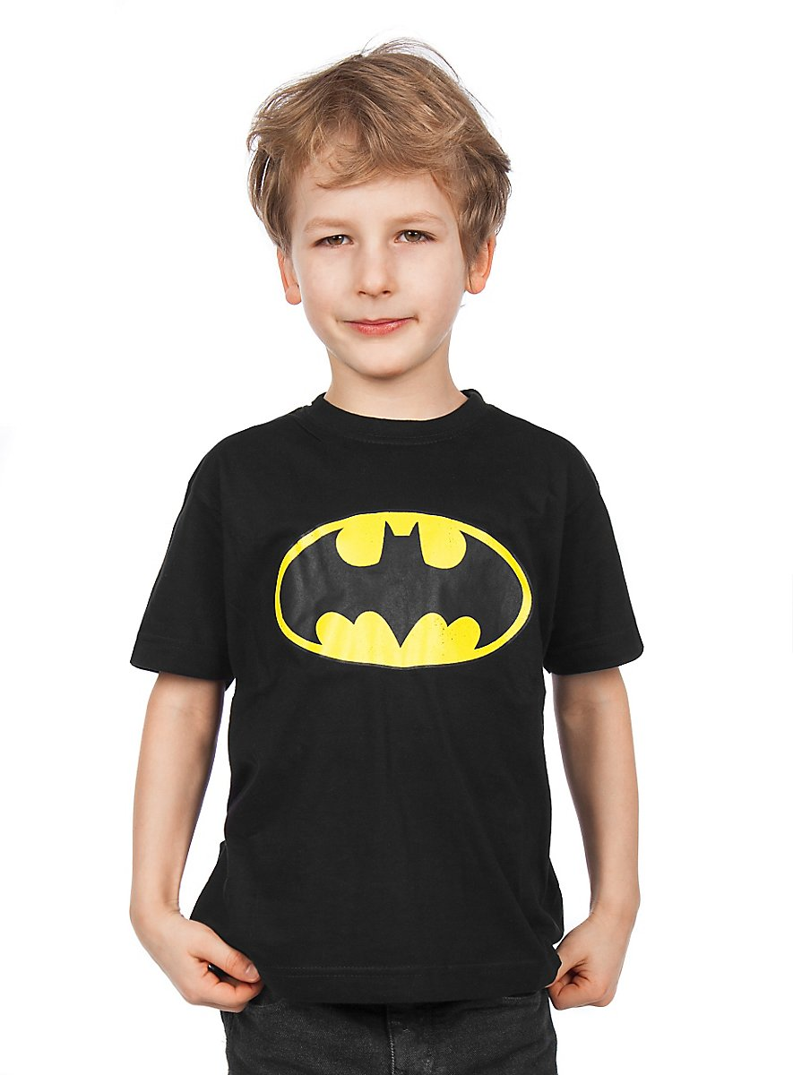 batman kinder t shirt superhelden shirt f r kids. Black Bedroom Furniture Sets. Home Design Ideas