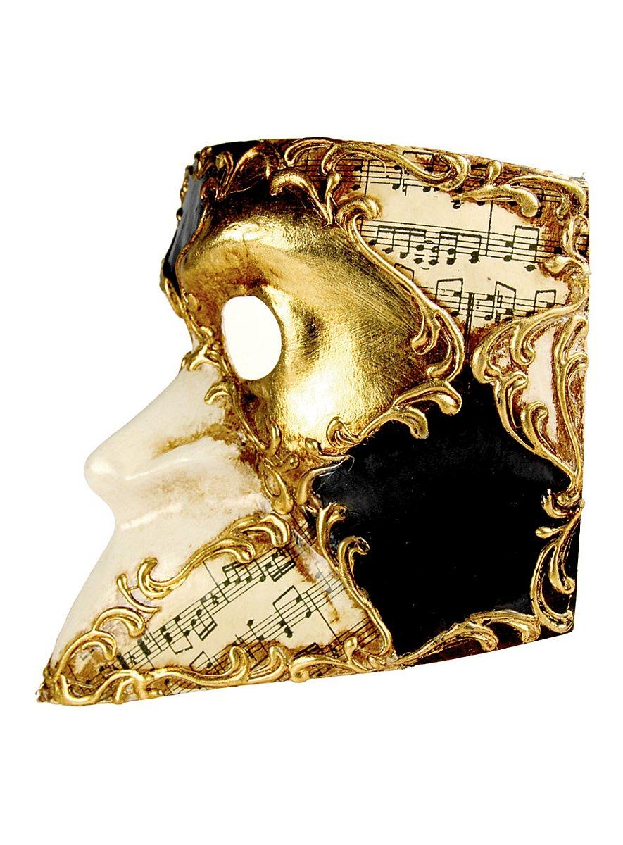 Bauta Scacchi Musica Venetian Mask Maskworld Com