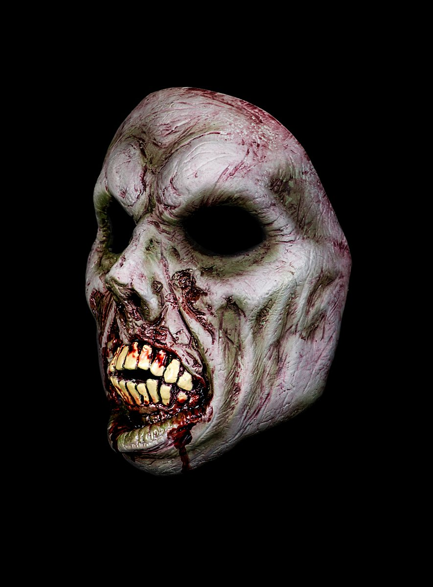 Half Halloween Masks