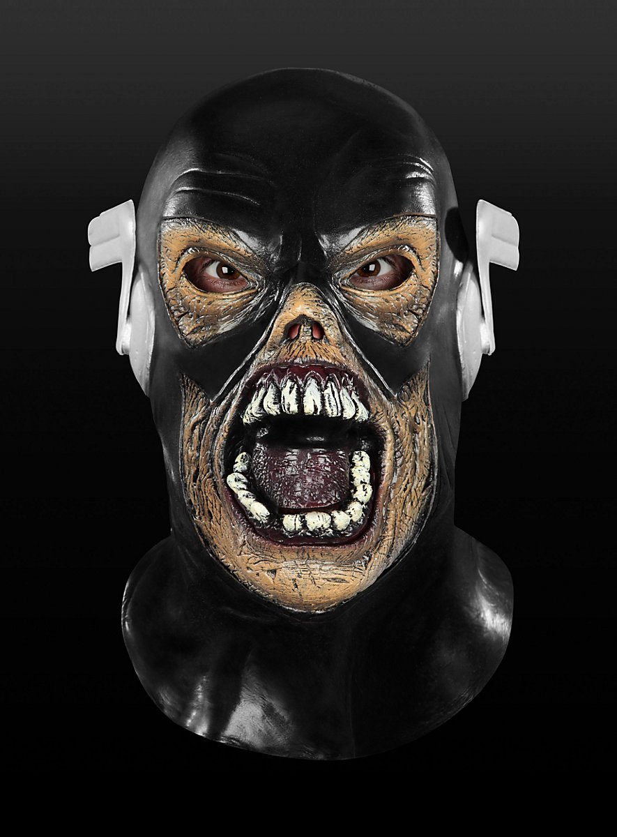 Black latex masks