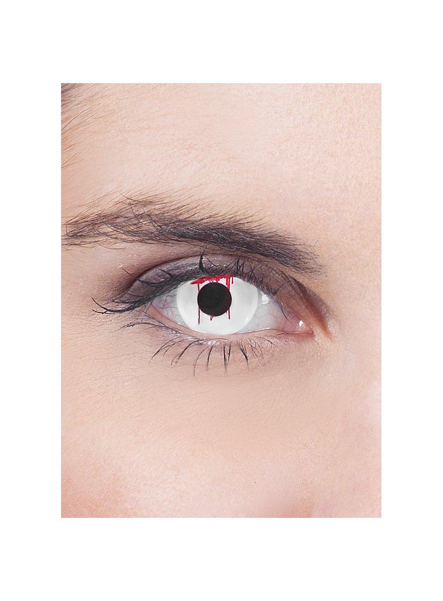 blutendes auge wei kontaktlinse mit dioptrien. Black Bedroom Furniture Sets. Home Design Ideas