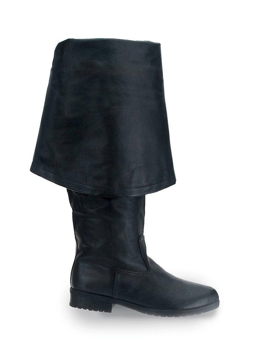 bottes mousquetaire cuir