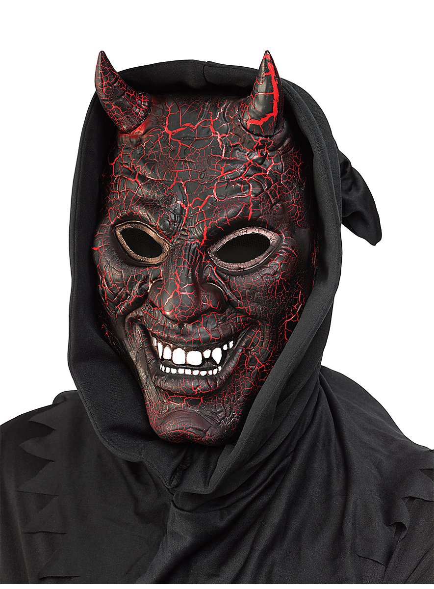 Burning Devil Mask - maskworld.com