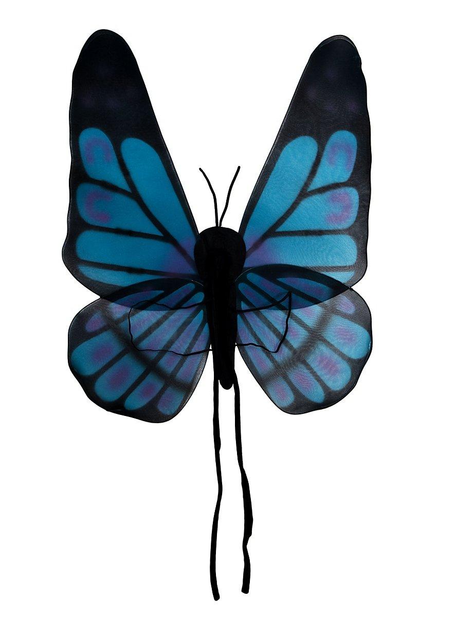 Butterfly Wings Black Amp Blue Maskworld Com