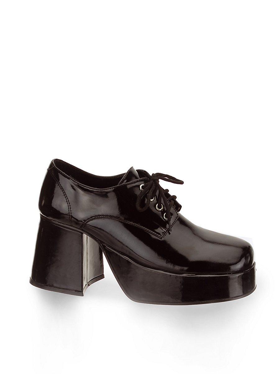 Chaussures des ann es 70 homme noir - Annee 70 homme ...