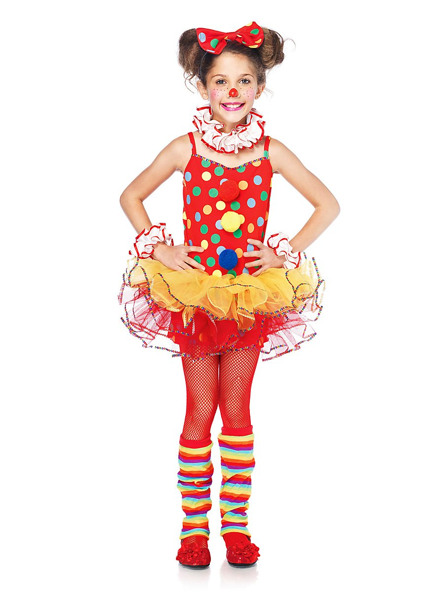 Clown Kids Costume - maskworld.com