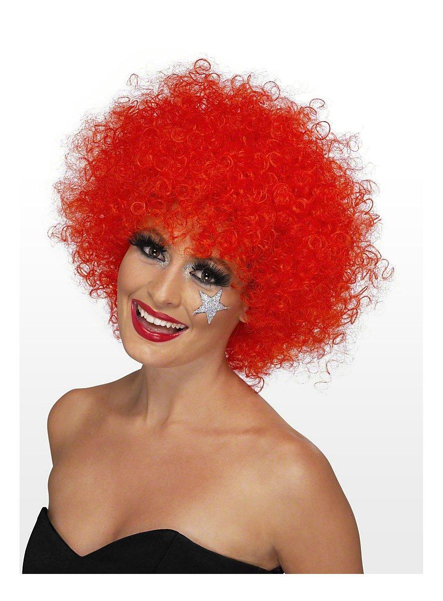 Clown Wig Red Maskworld Com