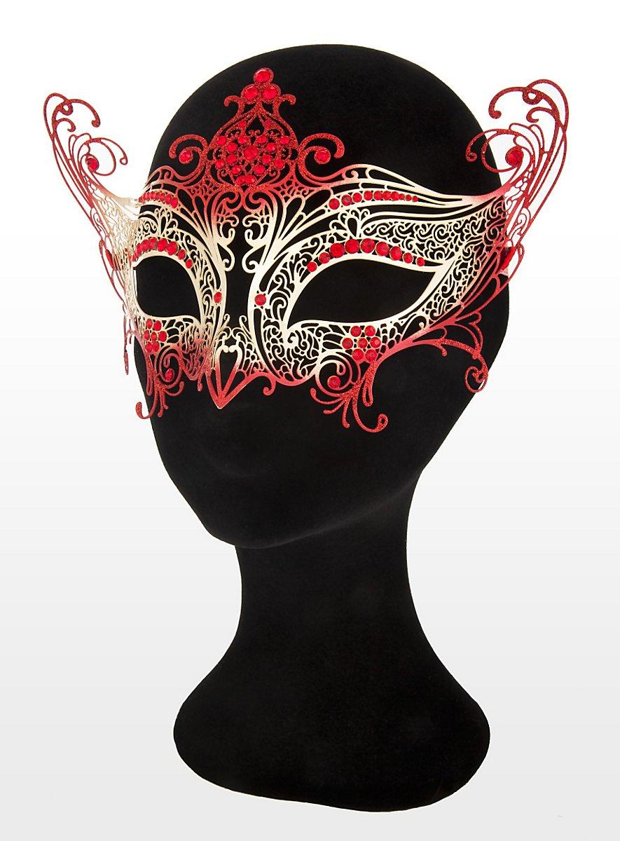 Colombina Contessa De Metallo Oro Rosso Venetian Metal