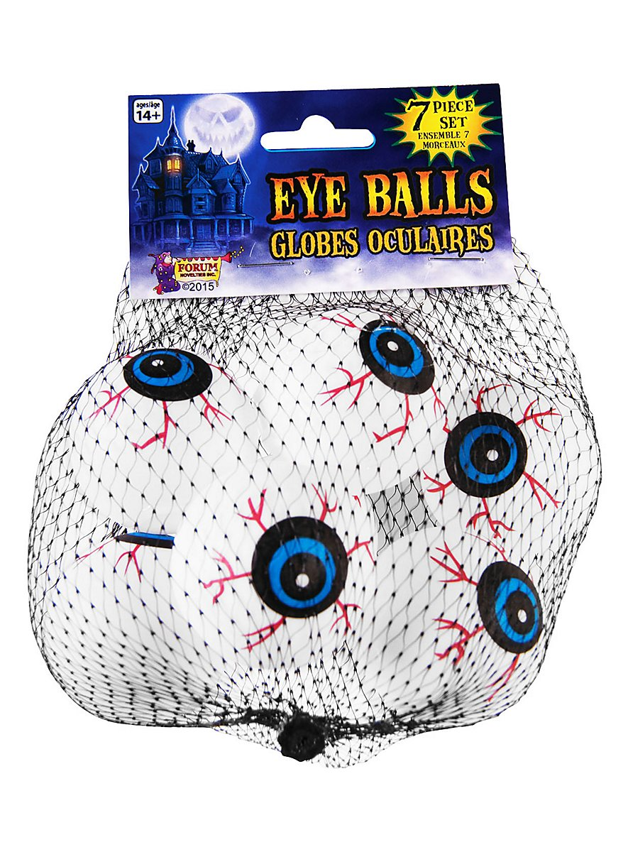D coration d 39 halloween yeux effrayants for Decoration yeux