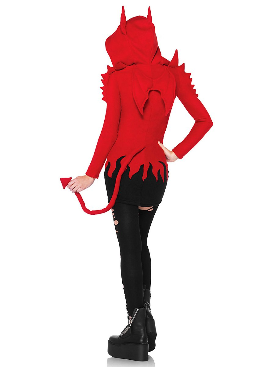 Devil Dearest Hoodie Dress - maskworld.com