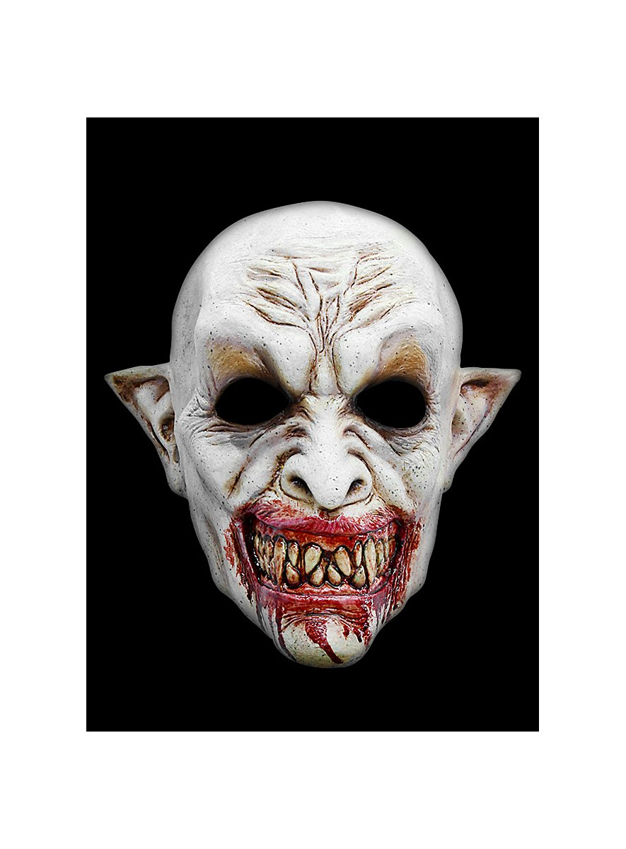 Dracula Horror Mask Made Of Latex Maskworld Com