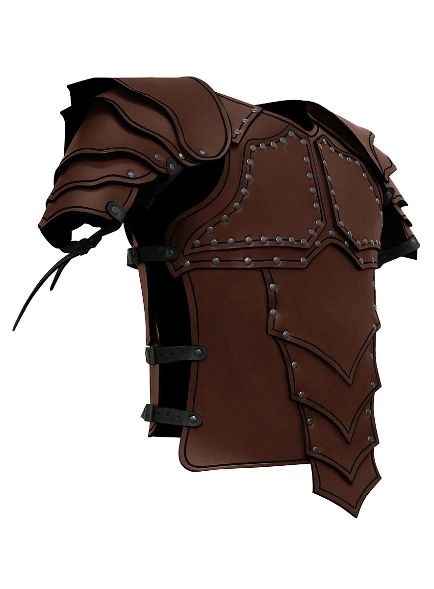 Leather Armour Dragon Rider Brown Maskworld Com