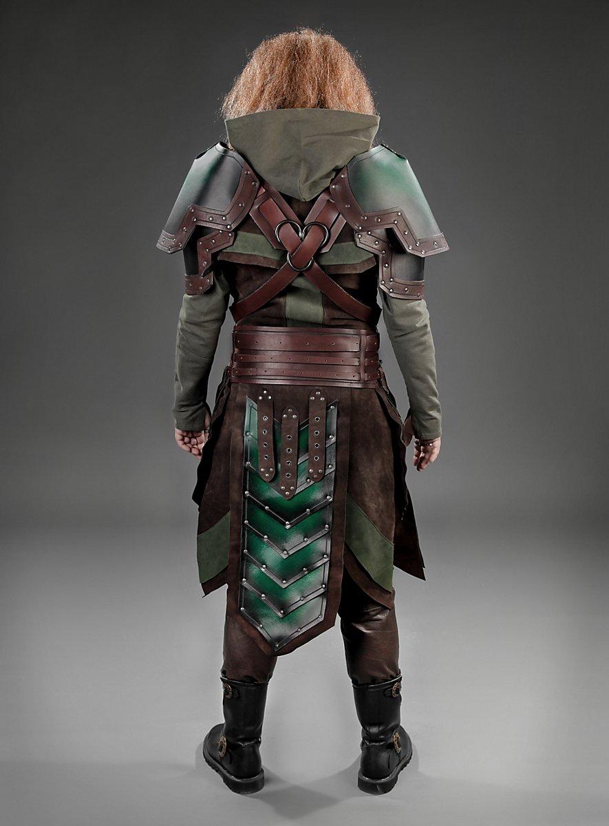 Armour Set Dwarf Green Brown Maskworld Com
