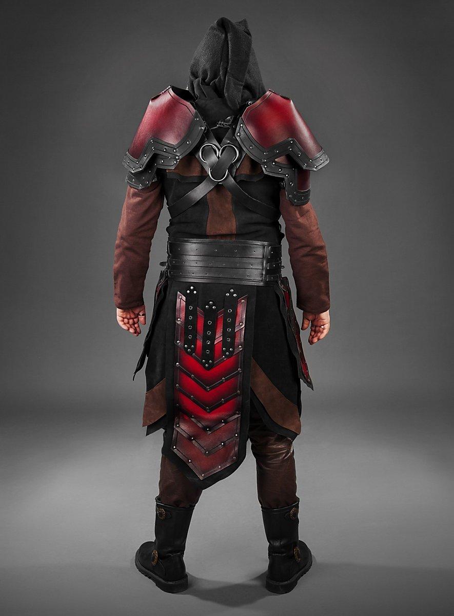 Armour Set Dwarf Red Black Maskworld Com