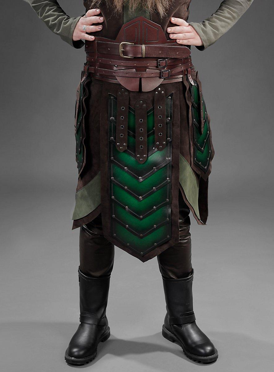 Armour Belt Dwarf Brown Green Maskworld Com