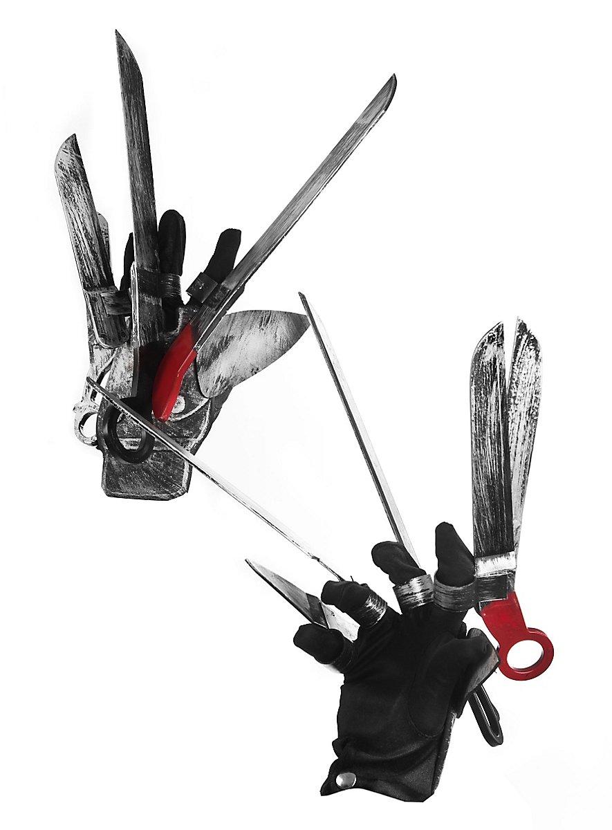 Edward mit den Scherenhänden Handschuh Set - maskworld.com  Edward mit den ...