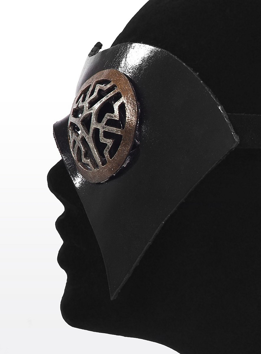 Eye Patch Steampunk Made Of Leather Maskworld Com
