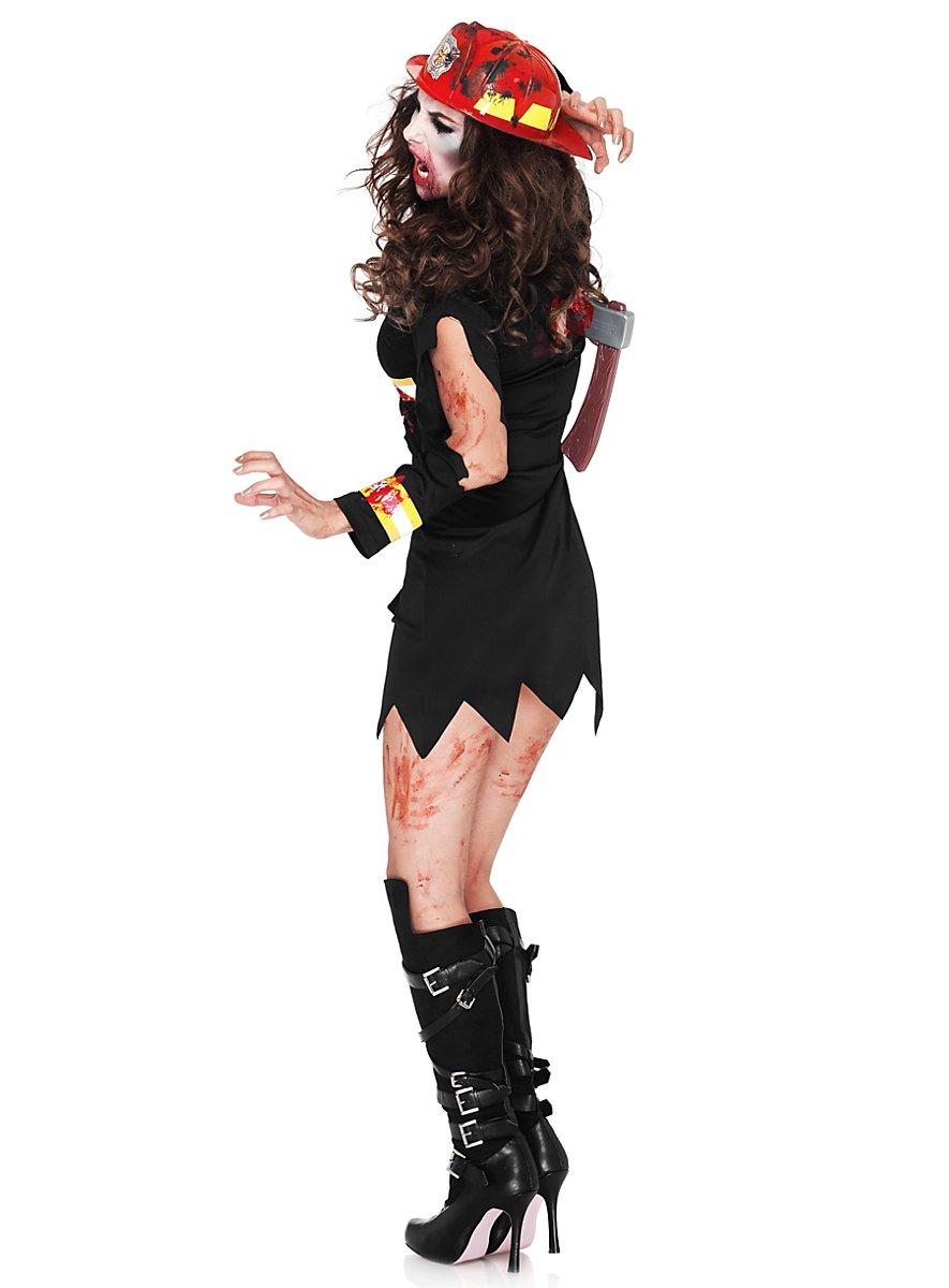 Fire Girl Zombie Costume Maskworld Com
