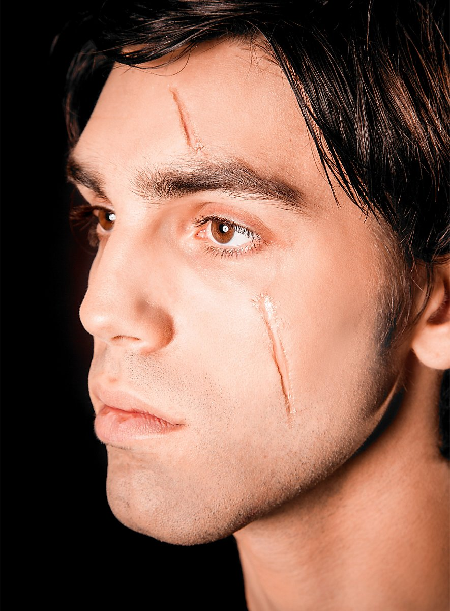 Fluide cicatrices au collodion - Maquillage halloween cicatrice ...