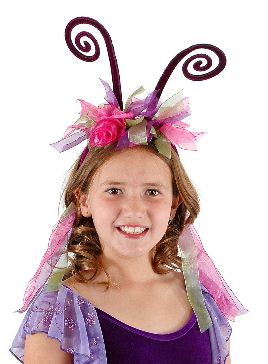 Fu00fchler Haarreif Lila-pink - Maskworld.com