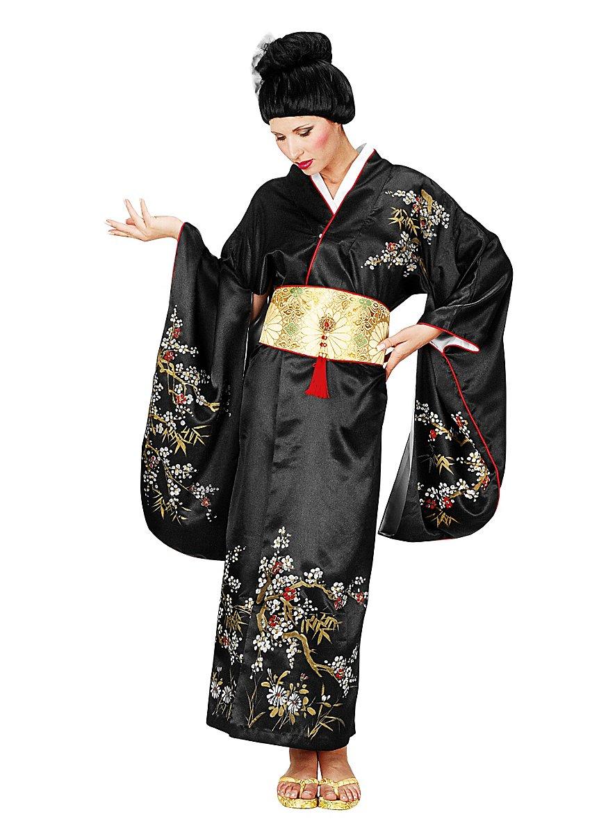 Geisha Black Costume Maskworld Com
