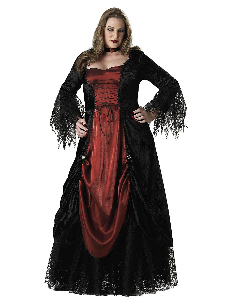 Real Magic Wands Gothic Lady Costume - ...