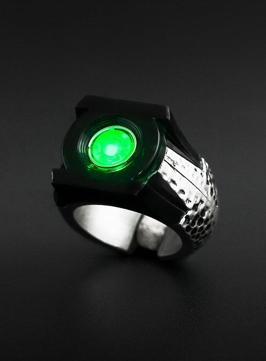 green lantern led ring. Black Bedroom Furniture Sets. Home Design Ideas
