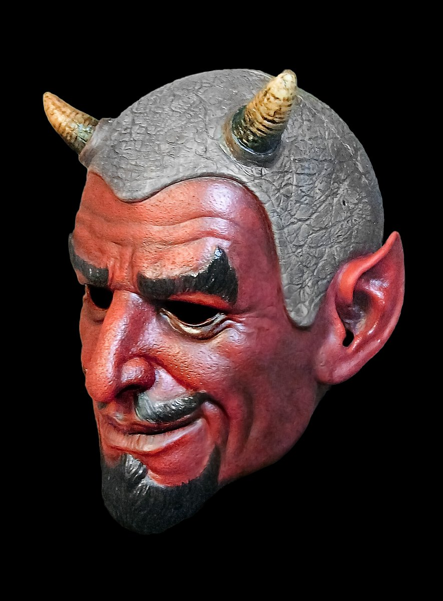 Handsome Devil Latex Mask - maskworld.com