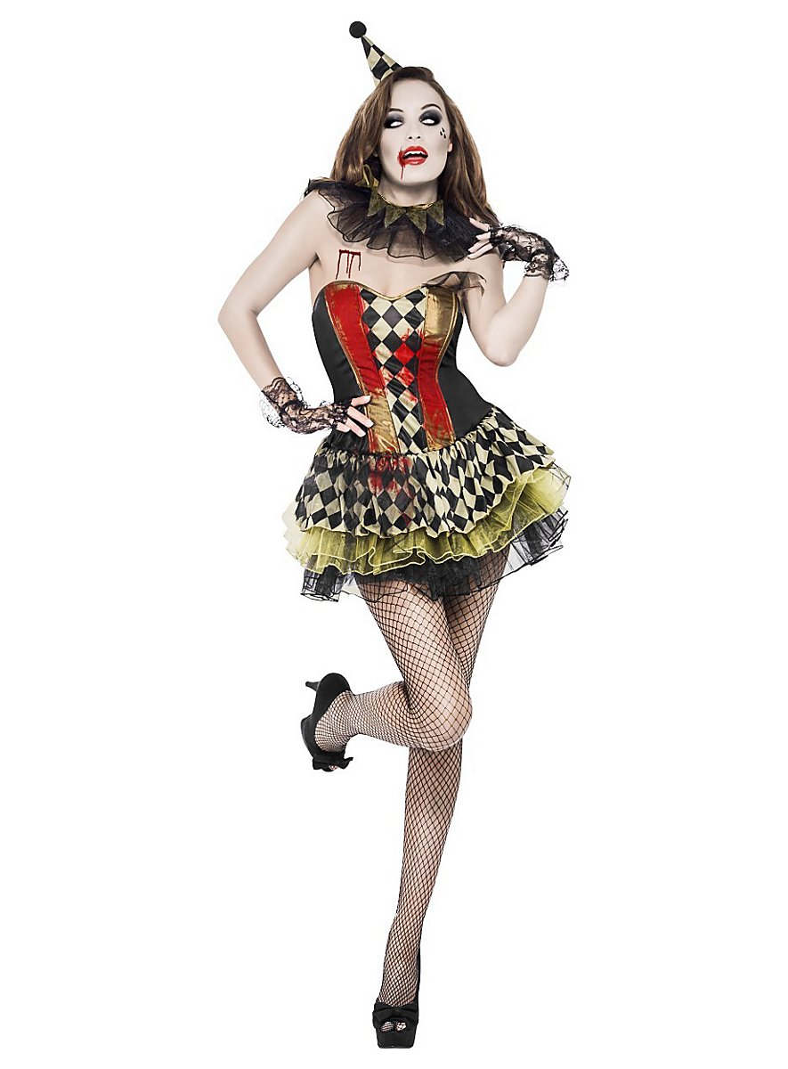 how to make a harlequin costume
