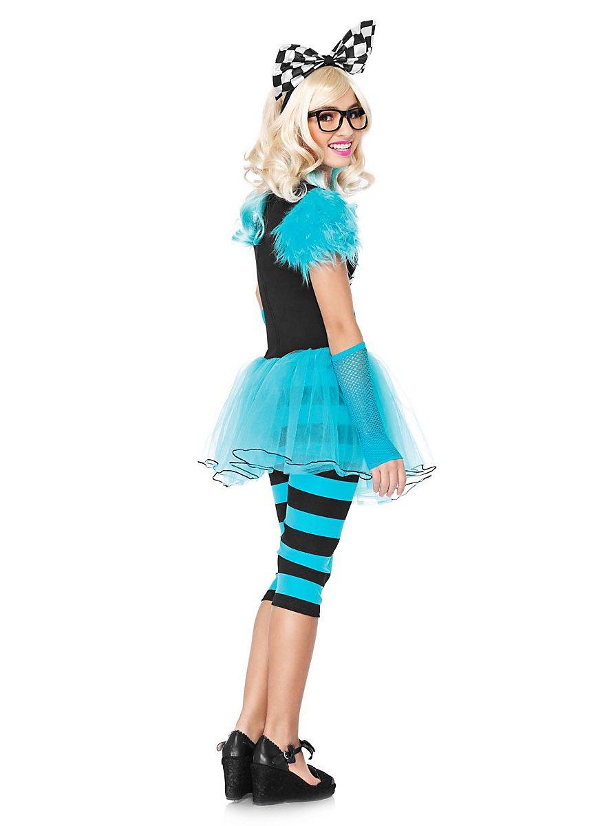 Hipster Alice Costume for Teens - maskworld.com