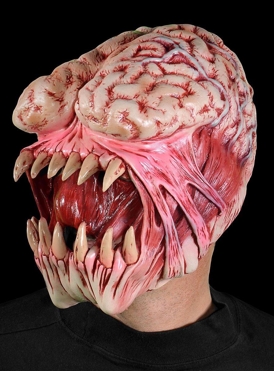 hirnfresser horror maske halloween maske. Black Bedroom Furniture Sets. Home Design Ideas